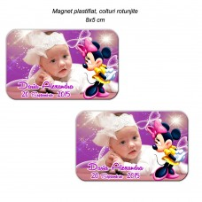 Magnet Botez Minnie Mouse