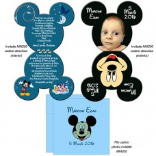 Invitatie Mickey Mouse