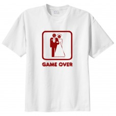 Tricou personalizat, Game Over
