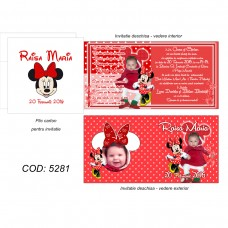 Invitatie Botez Minnie